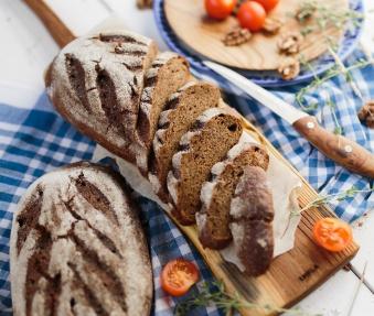 Хлеб заварной Карельский с изюмом