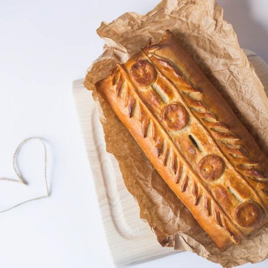 Суворовский пирог с индейкой