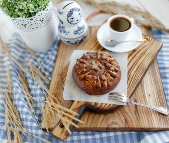 Пряник с черносливом и грецким орехом